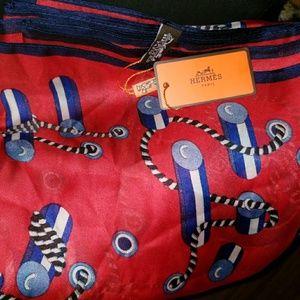 New Hermes silk scarf